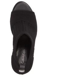 700cb85e9e8 $128, Calvin Klein Massey Peep Toe Pump