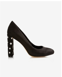 Express Star Thick Heeled Pump