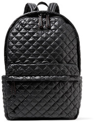 Metro leather trimmed quilted shell backpack black medium 3700626