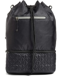 Quilted backpack black medium 951646