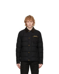 Belstaff Black Down Ranger Jacket