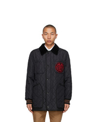 Burberry Black Quilted Langley Jacket