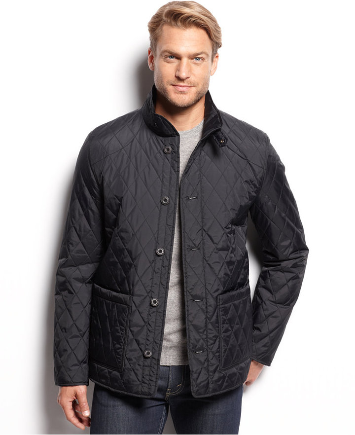 Tasso Elba Quilted Fleece Lined Barn Jacket Where To Buy How To Wear