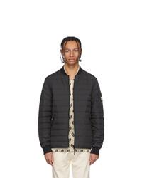 Kenzo Black Down Ikat Jacket