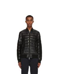 Moncler Black Down Perouges Jacket