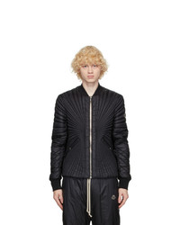 Rick Owens Black Moncler Edition Down Angle Jacket