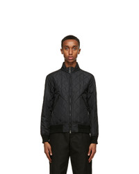 Burberry Black Nylon Quilted Jacket