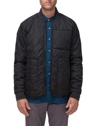 Fullton zip in compatible quilted bomber jacket medium 1150276