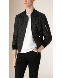 Burberry Lightweight Quilted Bomber Jacket