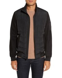 Michael Kors Michl Kors Mixed Media Quilted Jacket