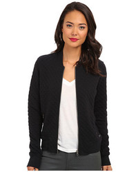 Quilted bomber jacket medium 110075
