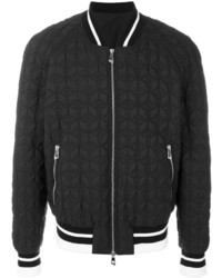 Versace Quilted Bomber Jacket