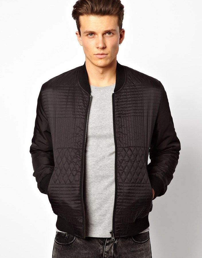 Asos Quilted Bomber Jacket | Where to buy & how to wear