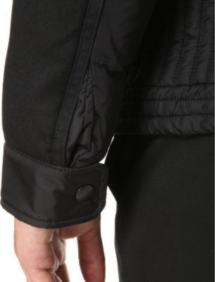 f462e65d2 Quilted Nylon Biker Jacket