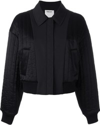 DKNY Quilted Reversible Bomber Jacket