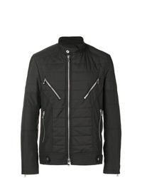 Balmain Quilted Zip Detail Jacket