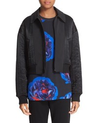 Reversible quilted bomber jacket medium 806147