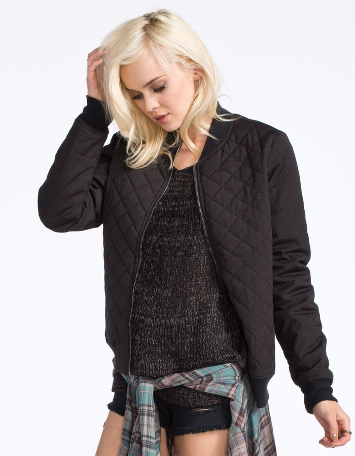 RVCA Mason Quilted Bomber Jacket | Where to buy & how to wear
