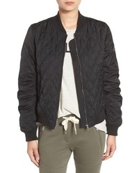 Sincerely Jules Quilted Bomber Jacket