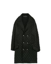 À La Garçonne Oversized Quilted Coat