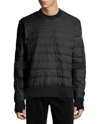 Albany quilted shirt black medium 4983152