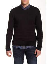 DKNY Jeans Quilted Crew Neck Sweater