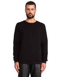 Lot 78 Lot78 Quilted Sweatshirt