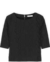 Julien David Textured Cotton Top