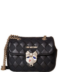 Love Moschino Updated Quilted Crossbody Bag With Love Girl Clasp