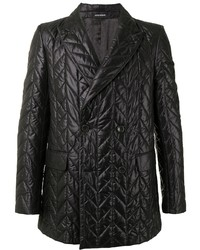 Emporio Armani Quilted Double Breasted Blazer