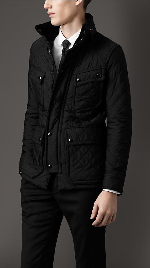Burberry Quilted Field Jacket Where To Buy How To Wear