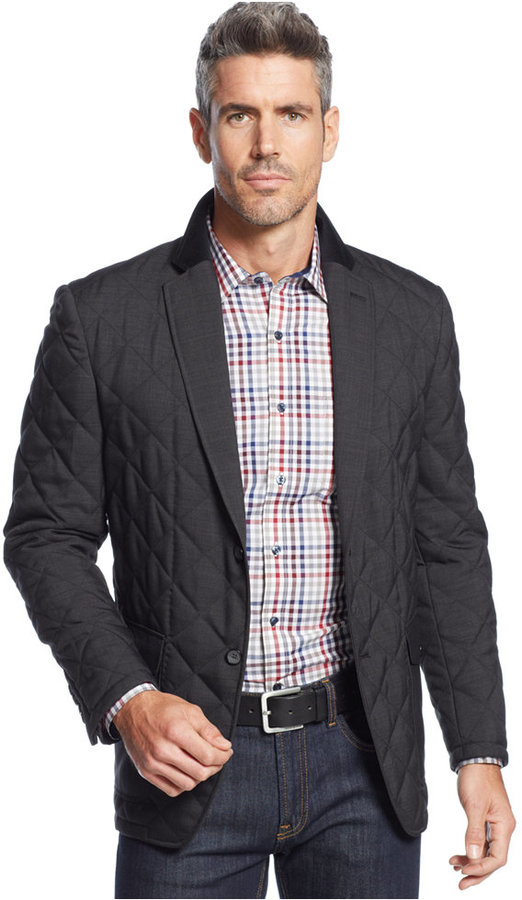 Tasso Elba Jacket Lightweight Quilted Field Jacket Where To Buy