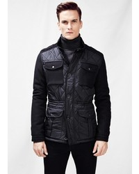Mango Quilted Field Jacket