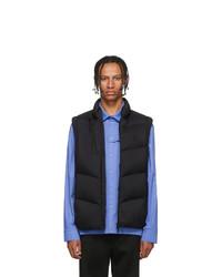 Moncler Black Down Jacot Vest