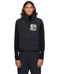 MONCLER GRENOBLE Black Down Nantaux Jacket