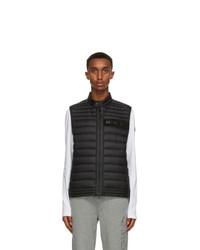 Moncler Black Down Roussilon Vest