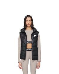 Nike Black Down Sportswear Windrunner Vest