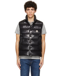 Moncler Black Down Tibb Vest