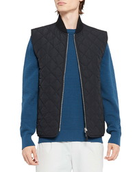 Theory Isamu Extant Quilted Front Zip Vest