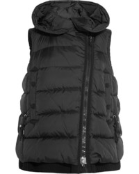 Moncler Laurie Quilted Shell Down Gilet Black
