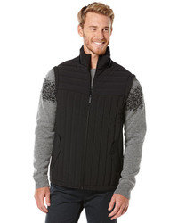 Perry Ellis Mens Quilted Puffer Vest