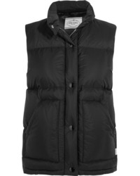 Prada Quilted Shell Down Gilet Black