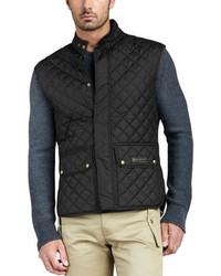 Technical quilted vest medium 86256