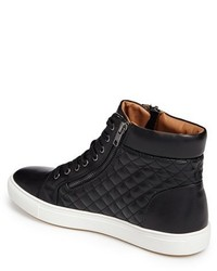 f35ad4fd09c ... Steve Madden Quodis Quilted High Top Sneaker