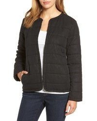 Collarless quilted jacket medium 5035146