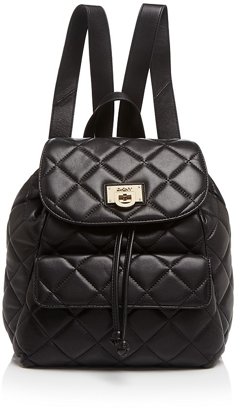DKNY Backpack Quilted | Where to buy & how to wear : dkny quilted rucksack - Adamdwight.com