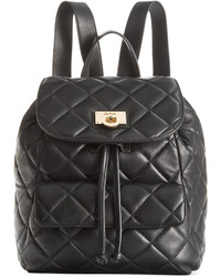 DKNY Gansevoort Quilted Nappa Leather Backpack