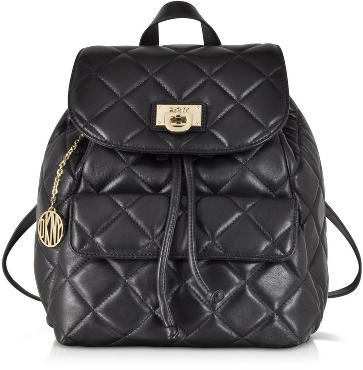 DKNY Gansevoort Quilted Nappa Leather Backpack | Where to buy ... : quilted leather rucksack - Adamdwight.com