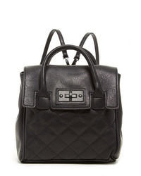 Steve Madden Quilted Convertible Faux Leather Backpack Tote