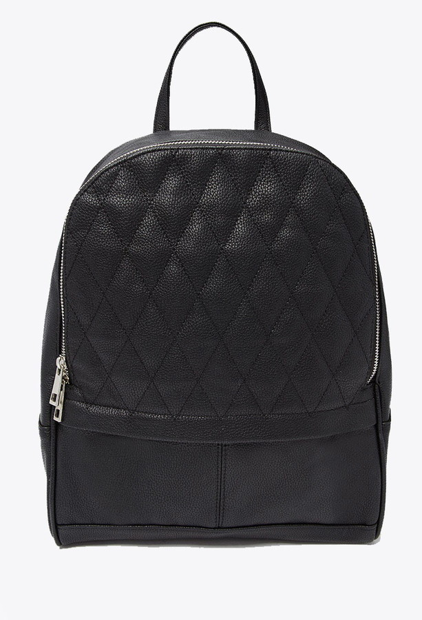 Forever 21 Quilted Faux Leather Backpack | Where to buy & how to wear : quilted faux leather backpack - Adamdwight.com
